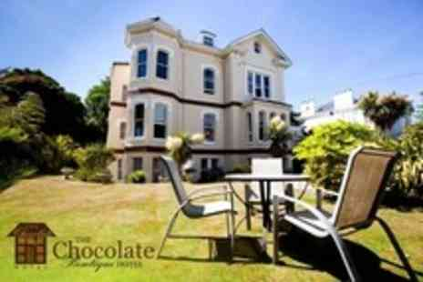 The Chocolate Boutique Hotel - In Bournemouth One Night Stay For Two With Breakfast - Save 51%