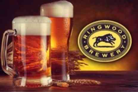 Ringwood Brewery - Tour and Tasting Session For Two With Half Pint Tankard to Take Home - Save 50%