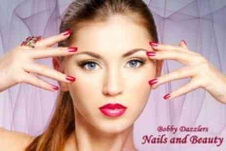 Bobby Dazzlers Nails and Beauty - Luxury Shellac Manicure or Pedicure - Save 66%