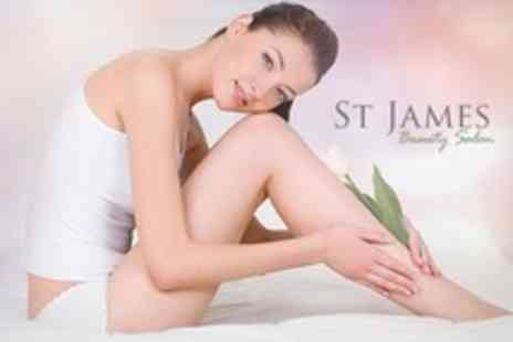 St James Beauty Salon - Six Yag Laser Hair Removal Sessions on Areas Such as Bikini - Save 80%