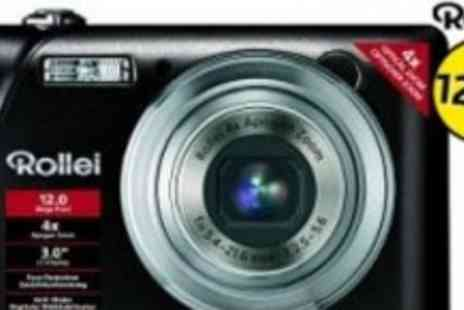 Rollei - Top-of-the-range Rollei Flexline 200 12MP Camera - Save 67%