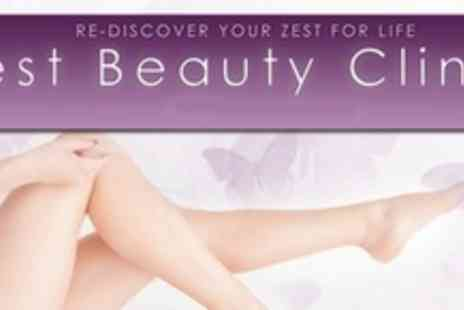 Zest Beauty Clinic - Six Sessions of IPL on Half Legs or Two Small Areas - Save 88%