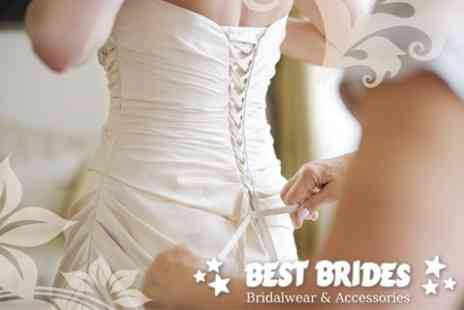 Best Brides - Wedding Gown and Two Bridesmaid Dresses for £300 - Save 63%