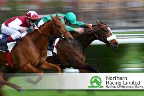 Chepstow Racecourse - Horse Racing Day Ticket of Choice for £9.30 - Save 63%