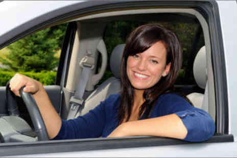 Drop The L Driving School - Two-hour driving lesson worth £44 - Save 77%