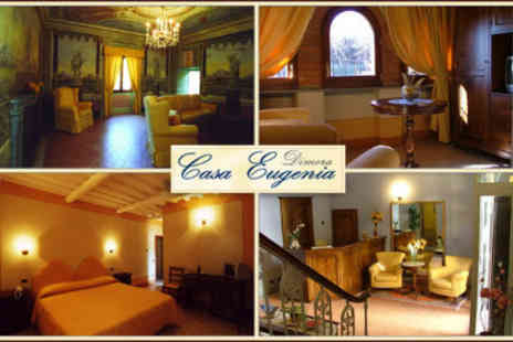 Dimora Casa Eugenia - Three-night stay for two people in Tuscany, including breakfasts & welcome drink - Save 59%