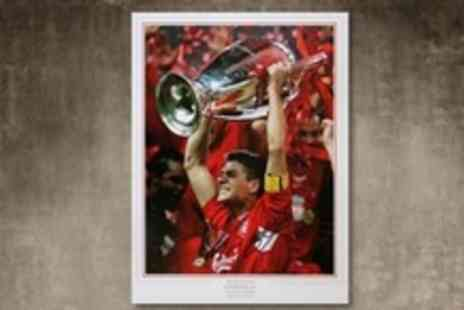 A1 Sporting Memorabilia - Limited Edition Autographed Steven Gerrard Picture - Save 62%