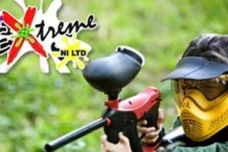 Action Extreme NI - Paintballing experience for One With 100 Paintballs And Equipment - Save 85%