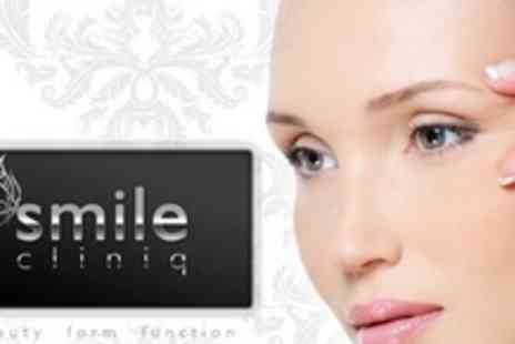 Smile Cliniq - Choice Of Facial Injection Treatments On One Area - Save 66%