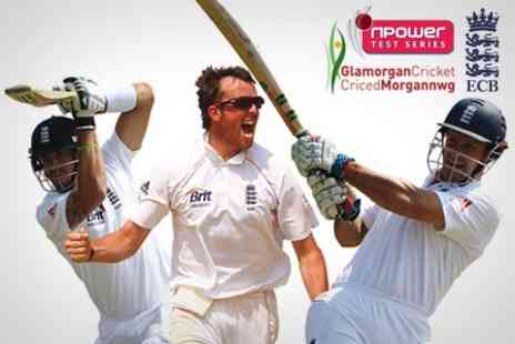 Glamorgan Cricket Club - Ticket to England V Sri Lanka npower Test Match in Cardiff For £25, Category B - Save 55%