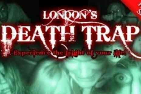 London's Death Trap - One Ticket to Zombie Horror Experience - Save 67%