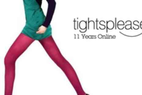 Tights Please - £5 for a voucher worth £10 to spend at tightsplease.co.uk - Save 50%