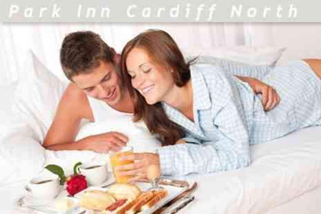 Park Inn Cardiff North - Overnight Stay For Two With Breakfast And Bottle of Sparkling Wine for £42 - Save 60%