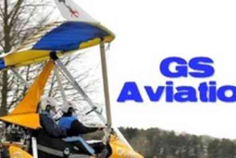 GS Aviation - One Hour Micro Flying Lesson For One - Save 59%