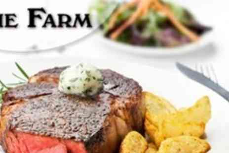 The Farm - Two Course Gastro Pub Meal For Two - Save 59%