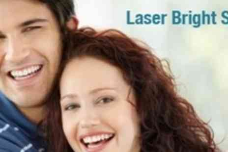 Laser Bright Smile - Teeth Whitening Treatment - Save 61%