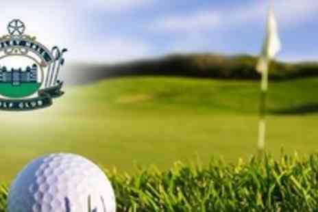 Howley Hall Golf Club - Day of Unlimited Golf With Breakfast Roll For Four - Save 69%
