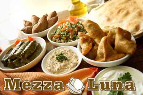 Mezzaluna - Mediterranean Three Course Meal For Two for £19.50 - Save 61%