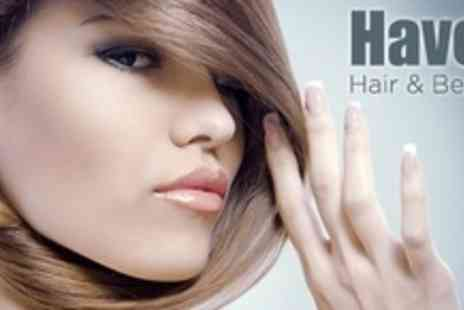 Haven Hair & Beauty - Half Head of Highlights Plus Wash, Cut and Conditioning Treatment - Save 76%