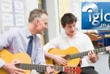 Igloo Music - Ten Beginners Group Guitar or Singing Lessons - Save 74%