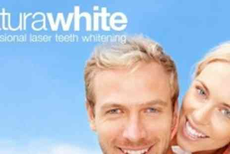 Naturawhite - One Hour Laser Teeth Whitening Treatment - Save 74%