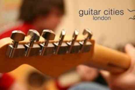 Guitar Cities - Two One On One Guitar Lessons - Save 56%