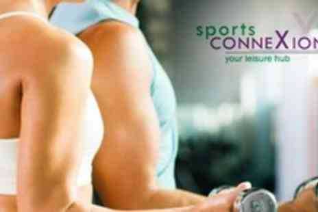Sports Connexion - Ten One Day Gym Passes With Access to Fitness Classes and Sauna - Save 81%