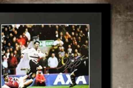 All Star Signings - Ryan Giggs Signed 1999 FA Cup Semi Final Framed Photo - Save 61%