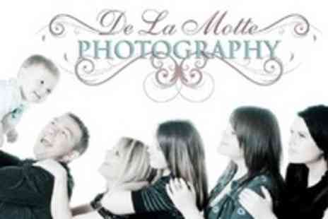 Delamotte Studio - Family Portrait Session With Prints - Save 96%