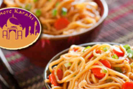 Lahore Karahi - Lunch for Two including Two Noodle Dishes and Two Soft Drinks - Save 53%