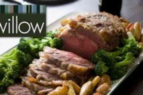 Willow Restaurant - Three Courses of Modern British Fare For Two Plus Cocktail - Save 54%