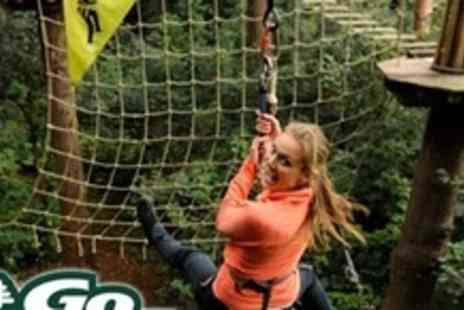 Go Ape - Tree Top Experience For Two - Save 60%