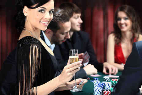Gala Casino - Cocktail and sharing platter for 2 including a £10 bet - Save 52%
