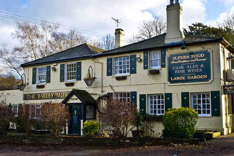 The Barley Mow - One night with three course dinner for 2 - Save 51%