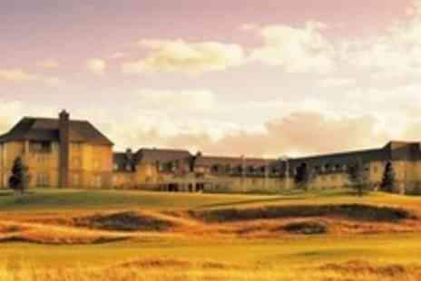 Fairmont St Andrews Scotland - Luxurious One Night Spa Getaway for Two - Save 54%