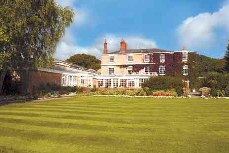 Rowton Hall Country House Hotel & Spa - Two night Chester stay for two, including full English breakfasts and 60 minute massages - Save 50%