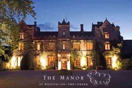 The Manor - In Cotswolds One Night Stay For Two With Breakfast and Five Course Tasting Menu - Save 38%