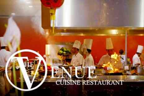 The Venue Cuisine - International Buffet Dinner For Two, £14 at Venue Cuisine - Save 53%