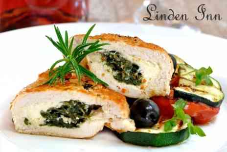The Linden Inn - Two Course Pub Meal For Two With Wine or Beer - Save 53%