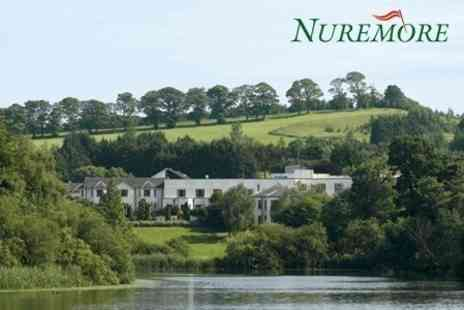 Nuremore Hotel and Country Club - In County Monaghan One Night 4star Stay For Two With Bottle of Wine and Breakfast Plus Golf - Save 47%
