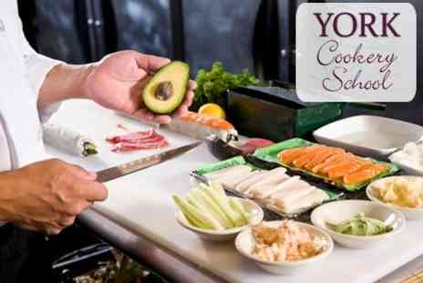 York Cookery School - Sushi Making Introductory Class - Save 47%