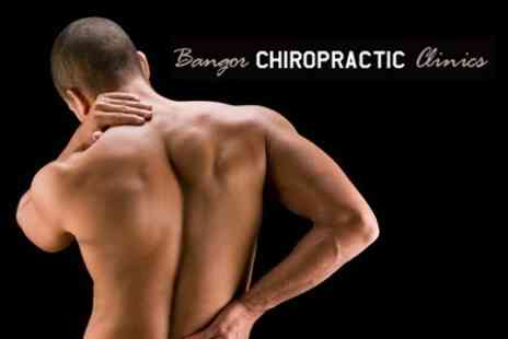Bangor Family Chiropractic Centre - Four Chiropractic Sessions With Consultation for £29 at Either Bangor - Save 77%