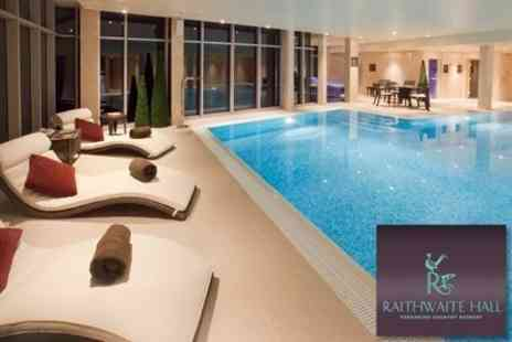 Raithwaite Hall - Spa Day For One With Treatment and Afternoon Tea - Save 61%