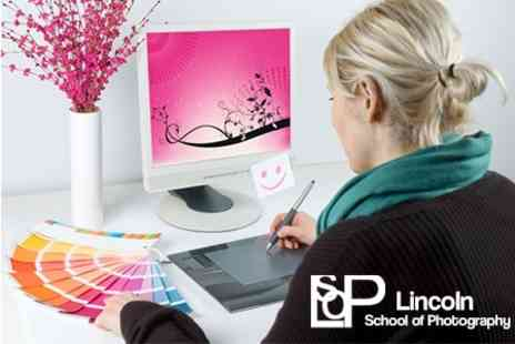 Lincoln School of Photography - Digital Photoshop Editing Course for £24 - Save 81%