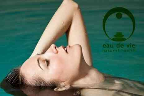 Eau de Vie - One Hour Floatation Session - Save 63%