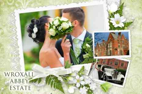 Wroxall Abbey Estate Hotel and Spa - Three Course Breakfast For 50 and Evening Buffet For 100 Guests Plus Four Rooms - Save 54%
