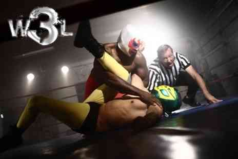 World Wide Wrestling League - American Style Wrestling: Two Tickets for £12 with World Wide Wrestling League - Save 50%