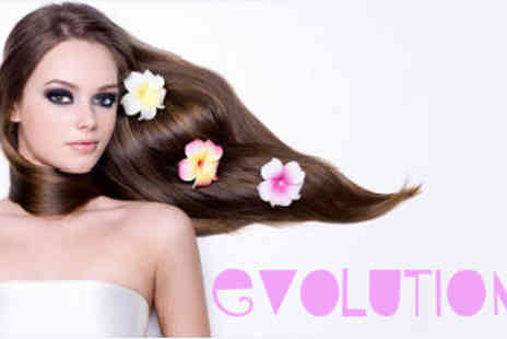 Evolution - Gift Voucher to Use on any Hair or Beauty Service - Save 50%