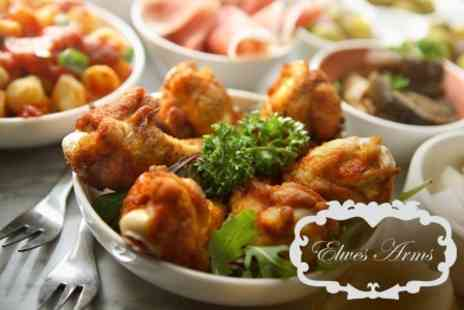 The Elwes Arms - Five Tapas Dishes For Two To Share With Two Glasses - Save 58%