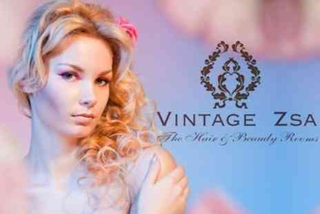 Vintage Zsa - Cut, Blow Dry and Conditioning Treatment - Save 68%
